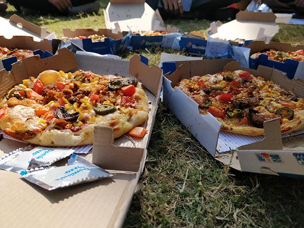 Lunch at Garden